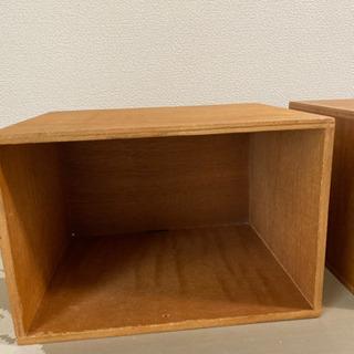 木製の収納ケースです。②