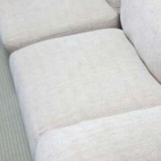 美品❢高級3人掛けカバー取り外し式ソファー
