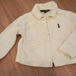 (取引中)イーストボーイ 白ジャケット サイズ90