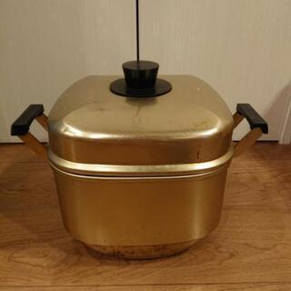 昭和の蒸し器 アルミ製