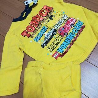 子供服90長袖トミカパジャマ