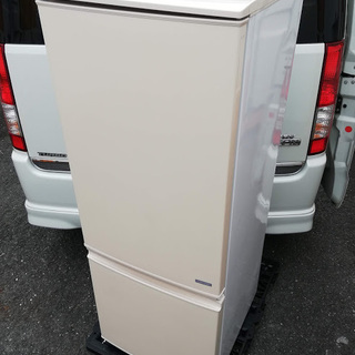 ■大容量■シャープ 冷蔵庫(167L・つけかえどっちドア)SJ-...