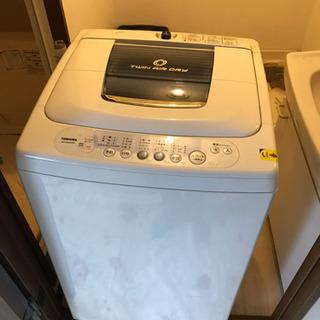 東芝 洗濯機 AW-50GC 5.0kg 2006年製