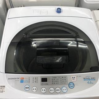 格安!4.6kg洗濯機!
