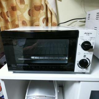 使用期間(1ヵ月半)のオーブントースターです。