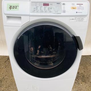 目玉商品‼️402番 Panasonic ✨ドラム式洗濯乾…