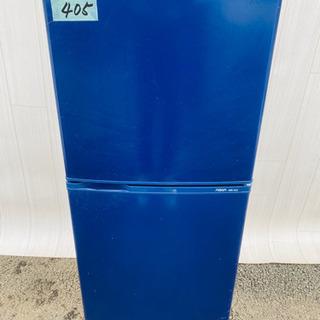 405番  AQUA✨ノンフロン冷凍冷蔵庫❄️AQR-141C(...