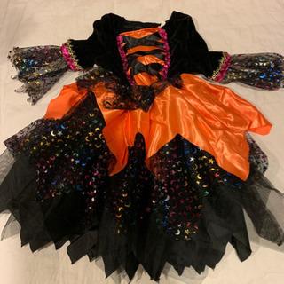 ハロウィン仮装用 魔女ドレス