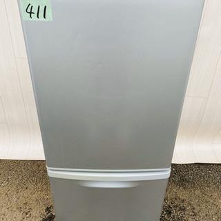 411番 Panasonic✨ノンフロン冷凍冷蔵庫❄️ NR-B...