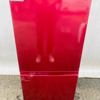 412番 AQUA✨ノンフロン冷凍冷蔵庫❄️ AQR-16F(R)‼️