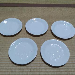 【新品】白いお皿5 枚セット