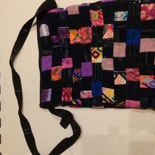 グアテマラで購入した布バック