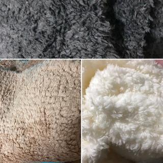 モコモコの布地