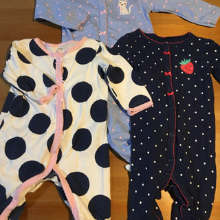 carter's女の子用パジャマ60〜70