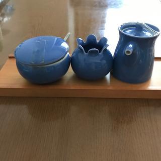 【未使用】 白山陶器 薬味入れ