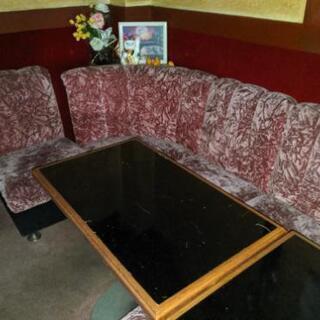 【早いもの勝ち!】スナック閉鎖の椅子やテーブルためお譲りします