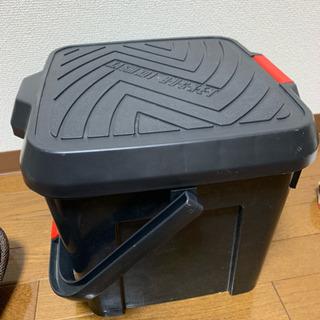 値下げ!洗車セット カゴ内蔵収納ケース&洗車用具