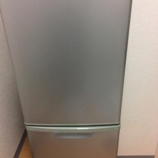 panasonic 2Dr 冷蔵庫 138L