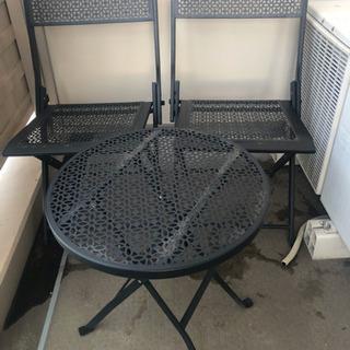 ガーデンファニチャー  テーブル&チェアセット