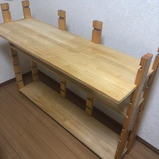 木製 棚 (机)