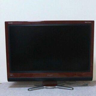 SHARP シャープ AQUOSテレビ32型 ウーハー付 引渡限定