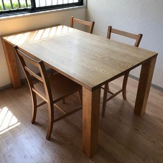 木製 ダイニングテーブル (椅子は付きません) 木目 テーブル