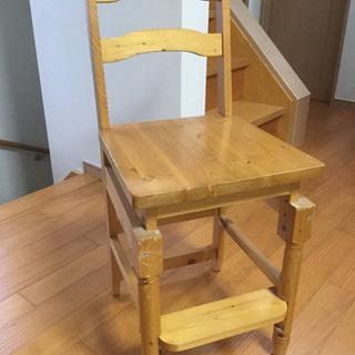 高さ調整可能 子供用 勉強用 ダイニング用 椅子