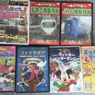 子供向けDVD 7本  ディズニー 電車