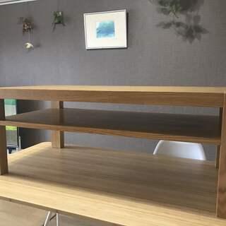 IDC 大塚家具 コーヒーテーブル(棚付) 全体的にキレイです