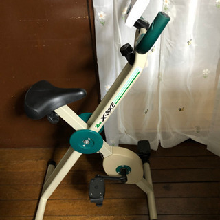 NEW X-BIKE 室内自転車こぎダイエットアイテム