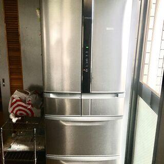 2016年製日立6ドア冷蔵庫です。R-F440F(SH)型
