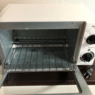 値下げしました!切り替え機能付きオーブントースター