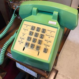 レトロ電話機 USベルシステム アンティークお洒落 飾りに AT...