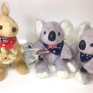 可愛いコアラとカンガルー、とっても💕肌触りが気持ちいい、綺麗な状...