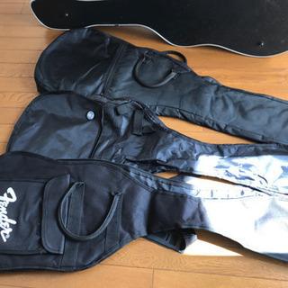 ギターケース3個エレキギター用ソフトケース