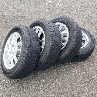 175/65R14 中古サマータイヤ+アルミホイール4本セット ...