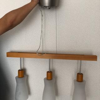 [商談中です] 調光可能シーリング 3連ライト