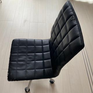 古い、表面がボロボロ、椅子、ハイバックチェア、オフィスチェア