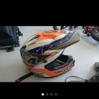 中古 fox ヘルメット