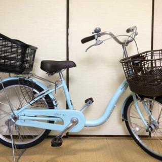 ブリヂストン 22型 自転車 アルミーユ ミニ オパールミントA...