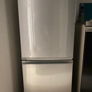 シャープ 冷蔵庫 SJ-D14C-S