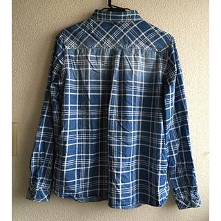 色むら風綿シャツ サイズL - 米沢市