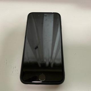 au iPhone7 128GB ブラック 残無 初期化 送料無料