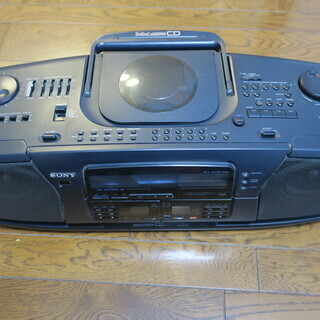 【ジャンク品】SONY ソニー CDラジカセ CFD-700 ド...