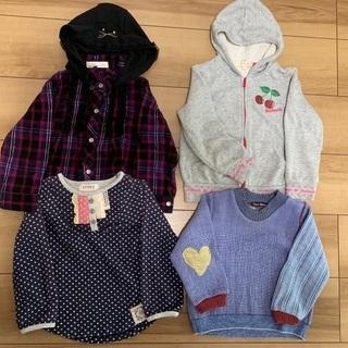 女の子 冬物洋服 サイズ100