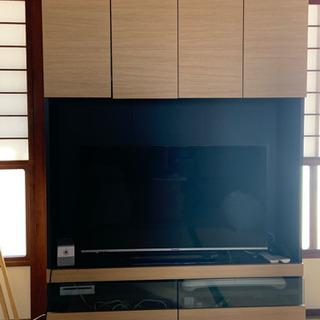 お洒落壁面収納TV台 大幅値下げ致しました。