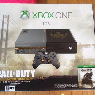 XBOX ONE 1TB COD限定モデル Fallout4&3付
