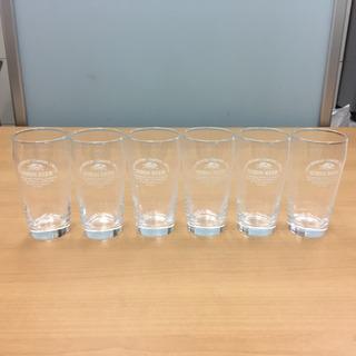 ビールタンブラーグラス 6個 未使用