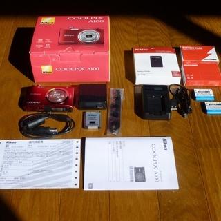 ニコン coolpix A100 デジタルカメラ デジカメ カメ...