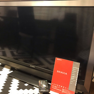 大型液晶デジタルテレビSonyBRAVIA